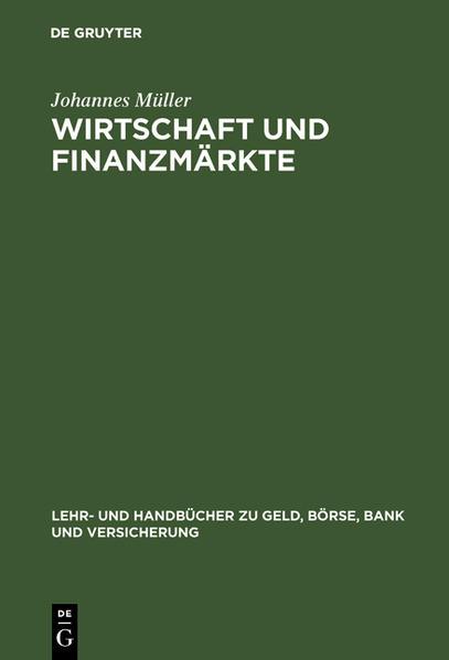 Wirtschaft und Finanzmärkte als Buch