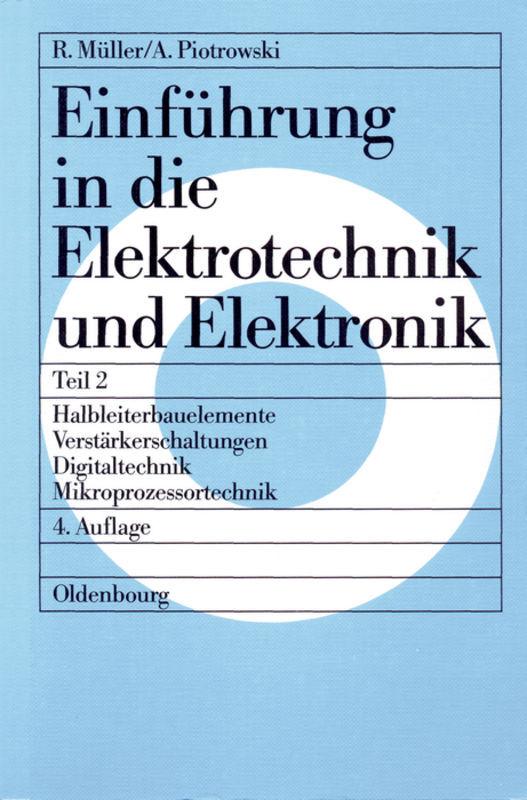 Einführung in die Elektrotechnik und Elektronik II als Buch