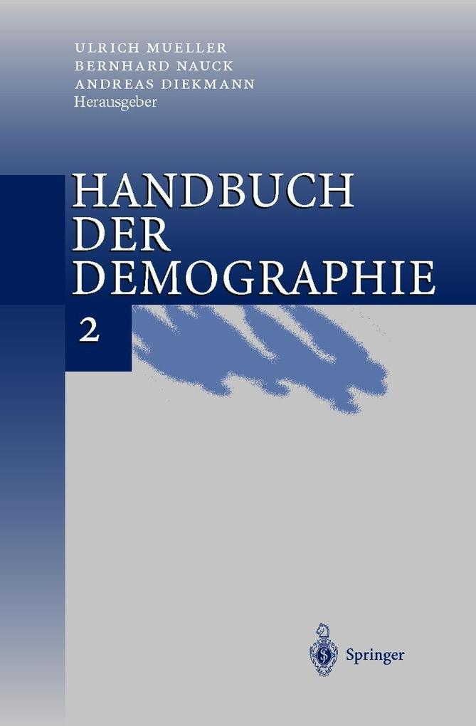 Handbuch der Demographie 2 als Buch