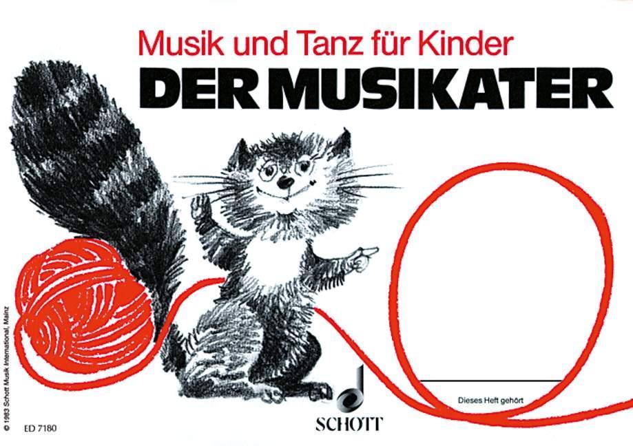Der Musikater. Kinderheft Bd. 1 als Buch