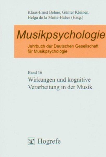 Musikpsychologie als Buch