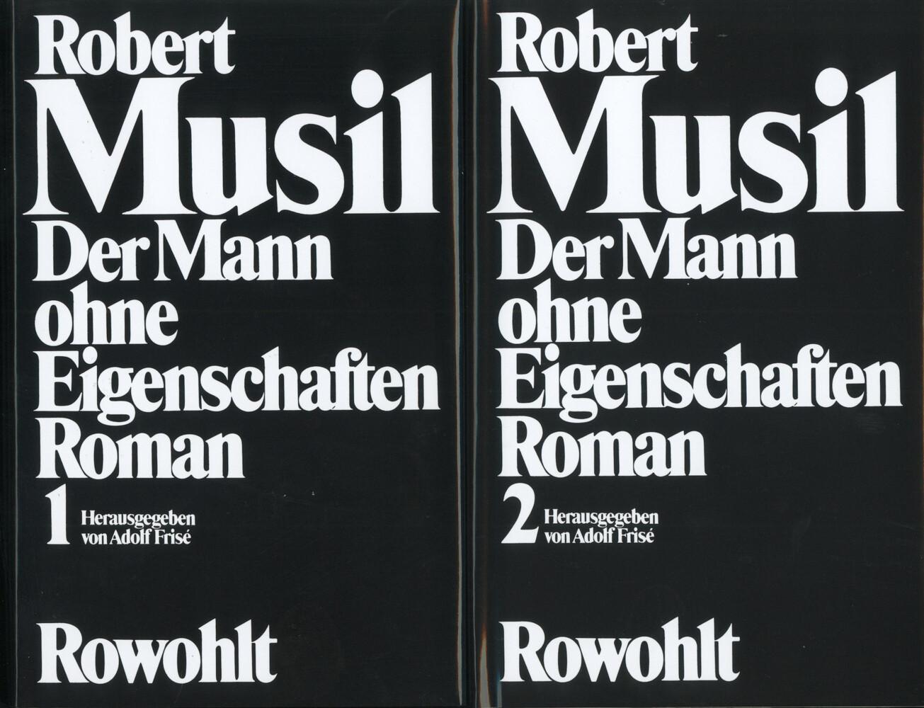 Der Mann ohne Eigenschaften als Buch