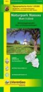 Naturpark Nassau 3 (Ost) 1 : 25 000. Wanderkarte als Buch