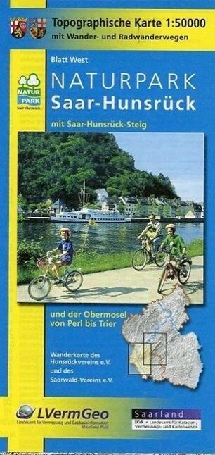 Naturpark Saar-Hunsrück Blatt West und Ost 1 : 50 000 als Buch