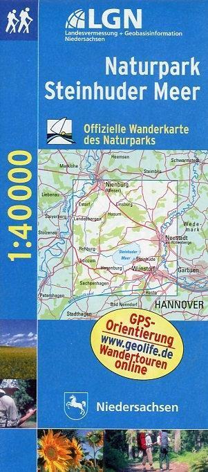 Naturpark Steinhuder Meer 1 : 40 000. Freizeitkarte als Buch