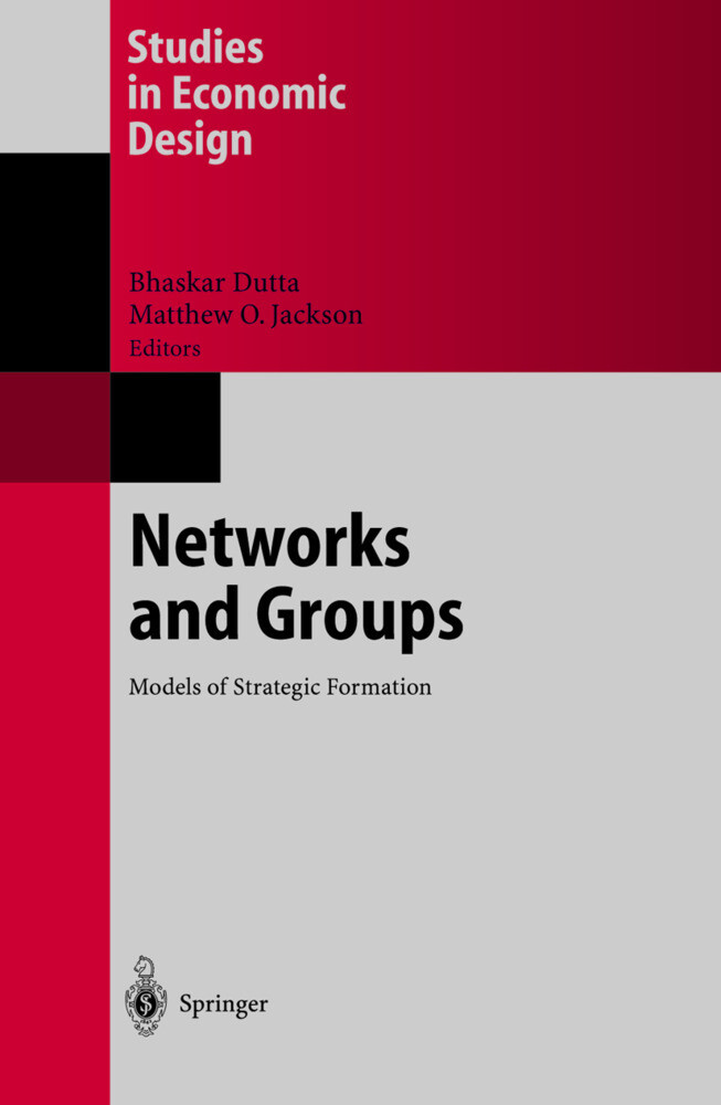 Networks and Groups als Buch