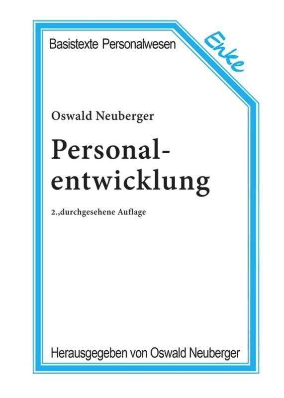 Personalentwicklung als Buch