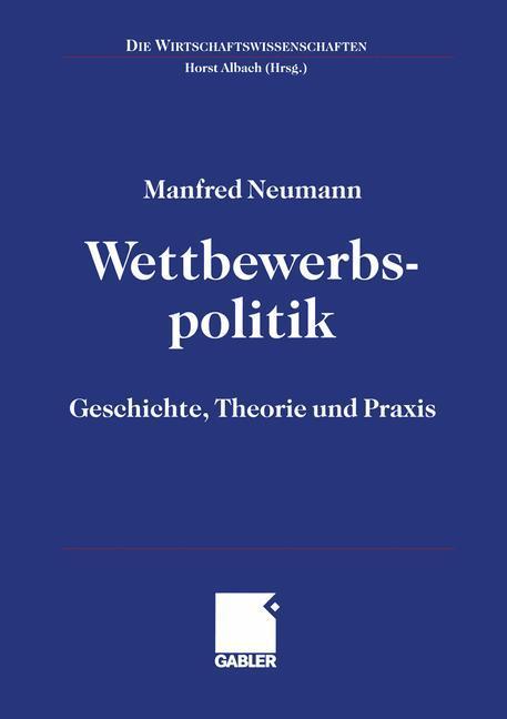 Wettbewerbspolitik als Buch