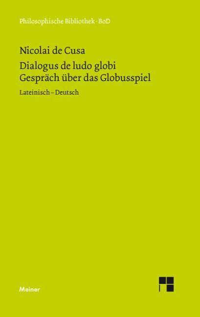 Schriften in deutscher Übersetzung / Über das Globusspiel als Buch