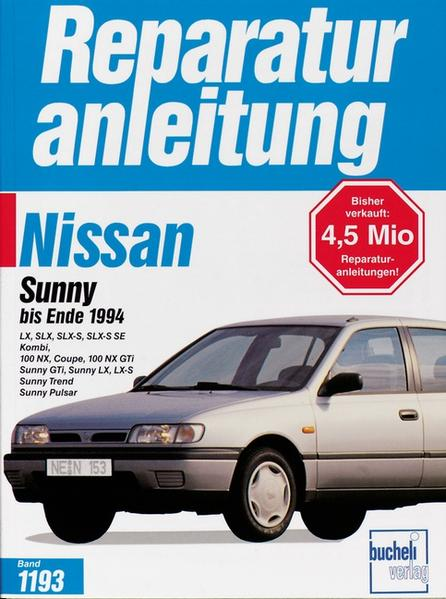 Nissan Sunny/100 NX bis Ende 1994 als Buch