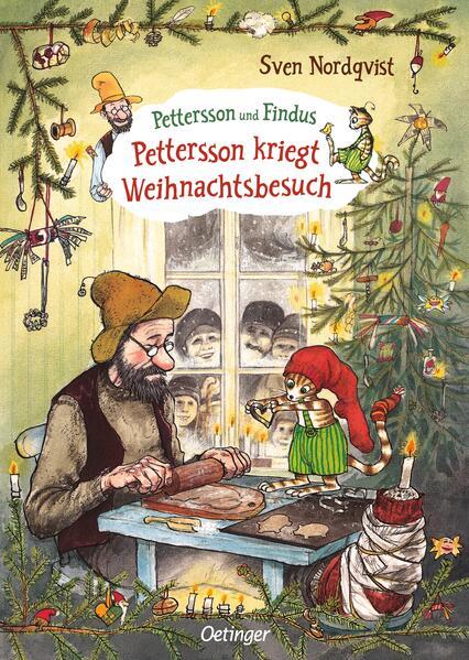 Pettersson kriegt Weihnachtsbesuch als Buch