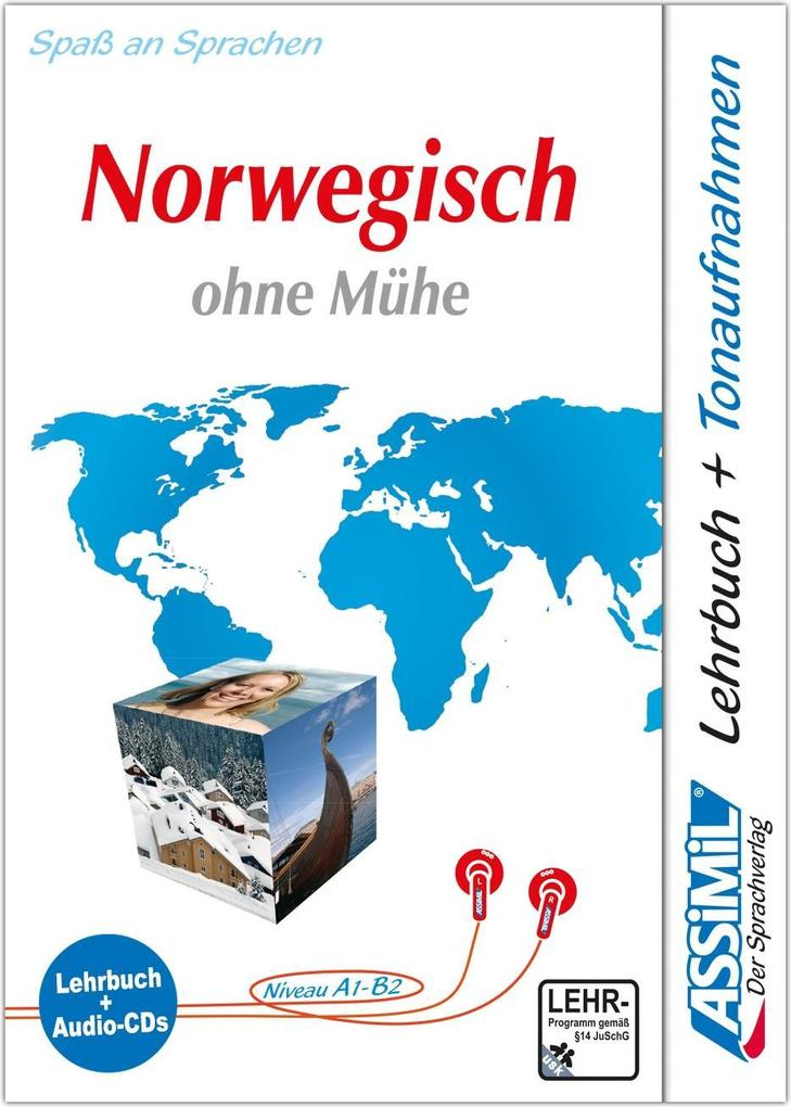 Norwegisch ohne Mühe. Multimedia-Classic. Lehrbuch und 4 Audio-CDs als Buch