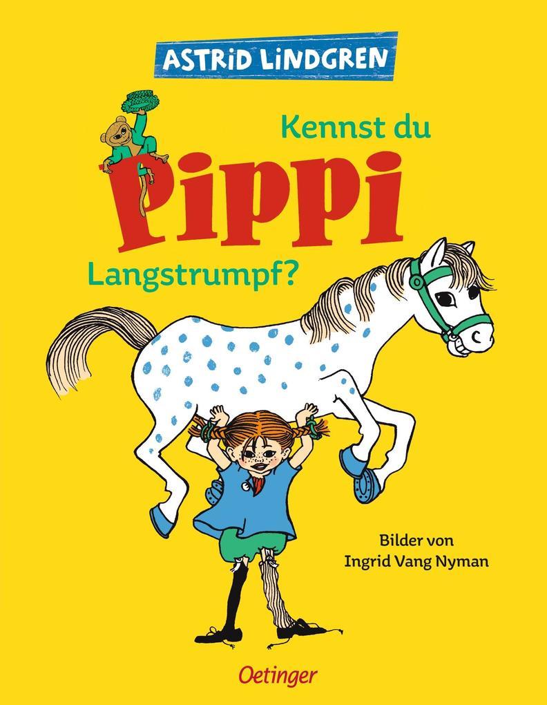 Kennst du Pippi Langstrumpf als Buch