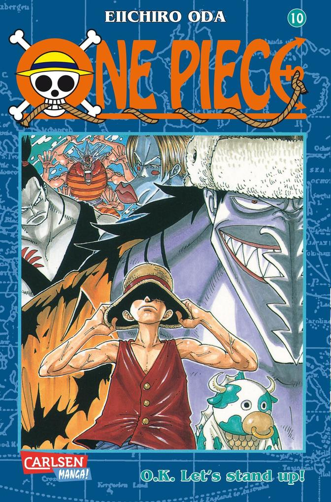 One Piece 10. O.K. Let's stand up! als Buch