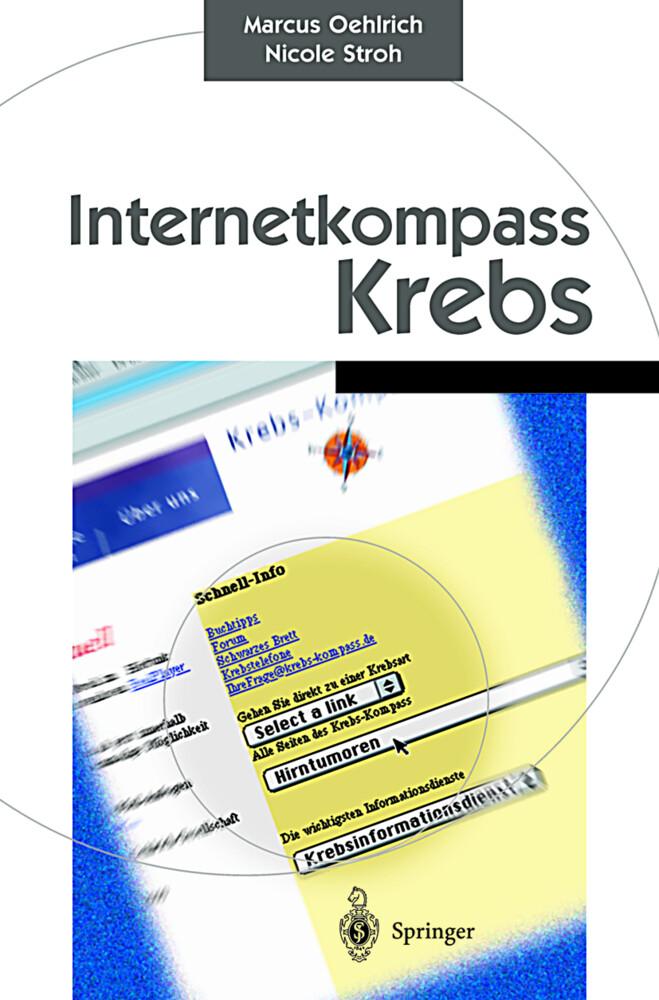 Internetkompass Krebs als Buch (kartoniert)