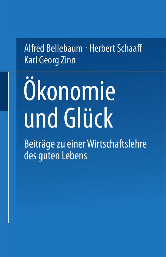Ökonomie und Glück als Buch