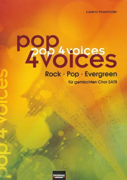 pop 4 voices als Buch