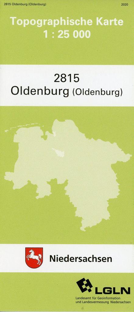 Oldenburg (Oldb.) 1 : 25 000. (TK 2815/N) als Buch