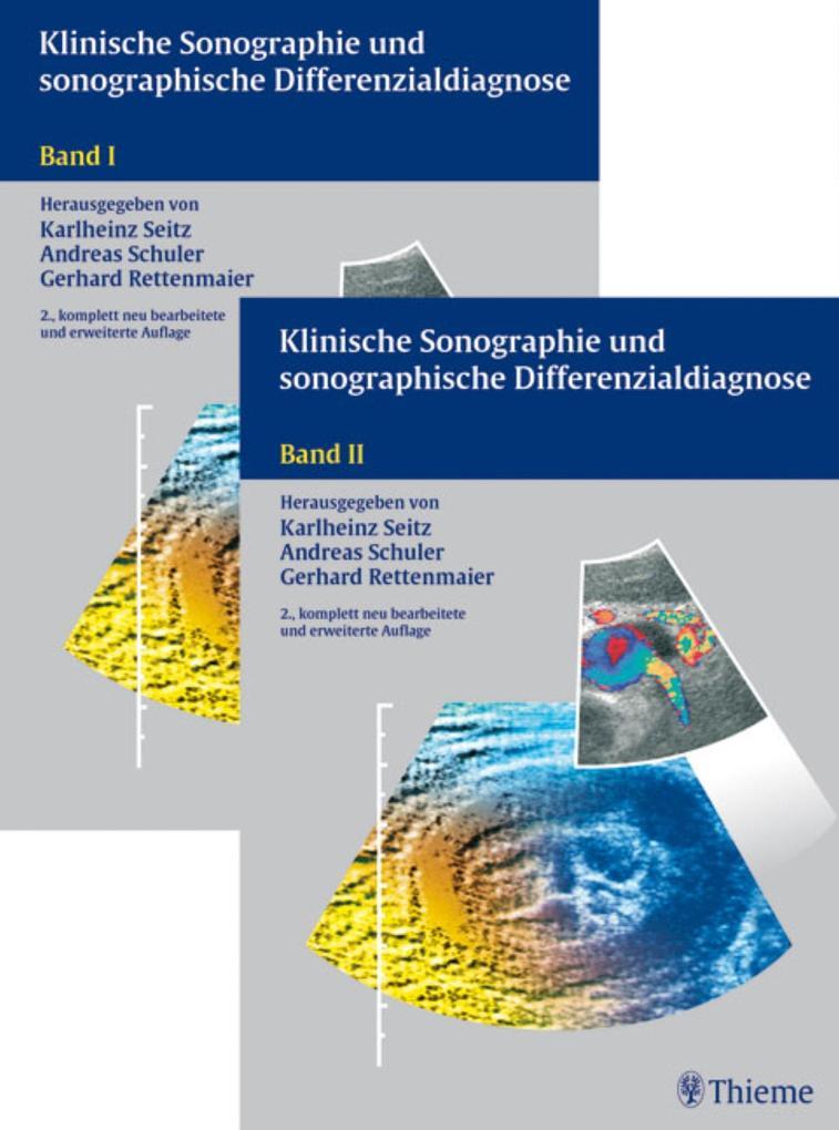 Klinische Sonographie und sonographische Differenzialdiagnose als eBook