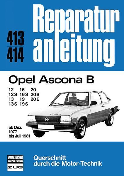 Opel Ascona B als Buch