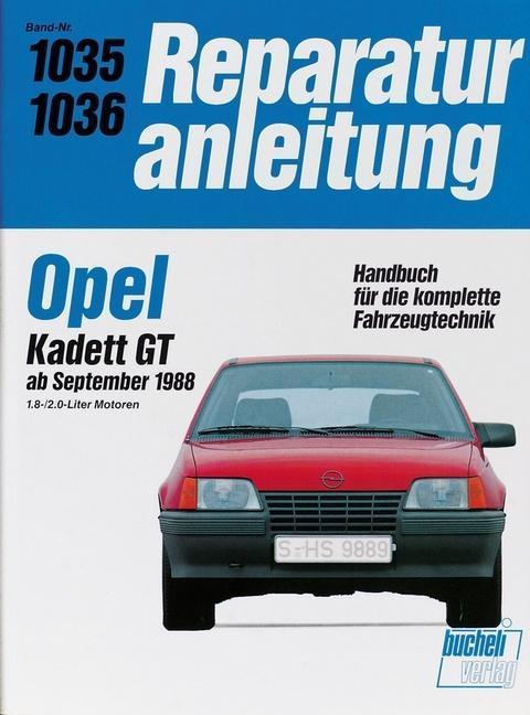 Opel Kadett GT ab September 1988 als Buch