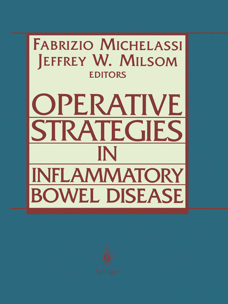 Operative Strategies in Inflammatory Bowel Disease als Buch