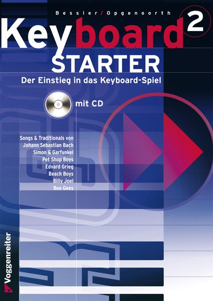 Keyboard-Starter II. Inkl. CD als Buch
