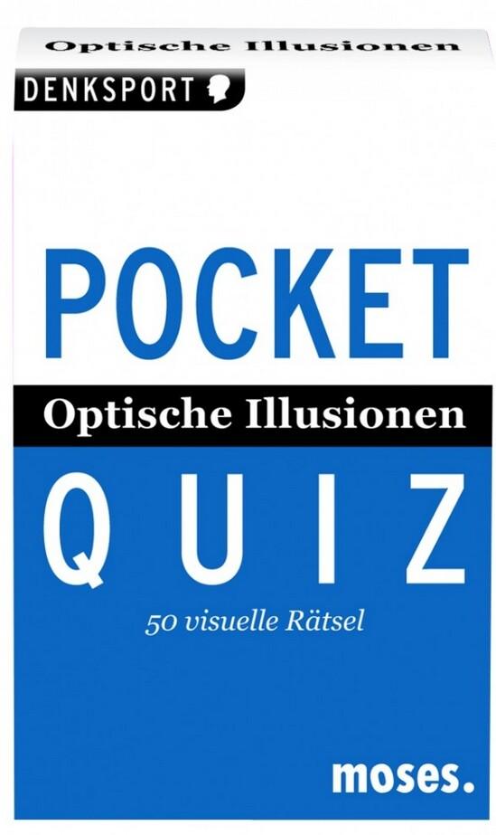 Optische Illusionen. Pocket Quiz als Buch