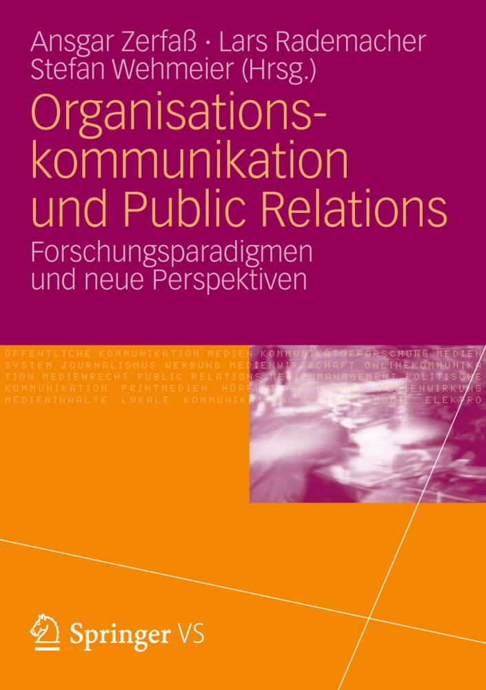 Organisationskommunikation und Public Relations als Buch von