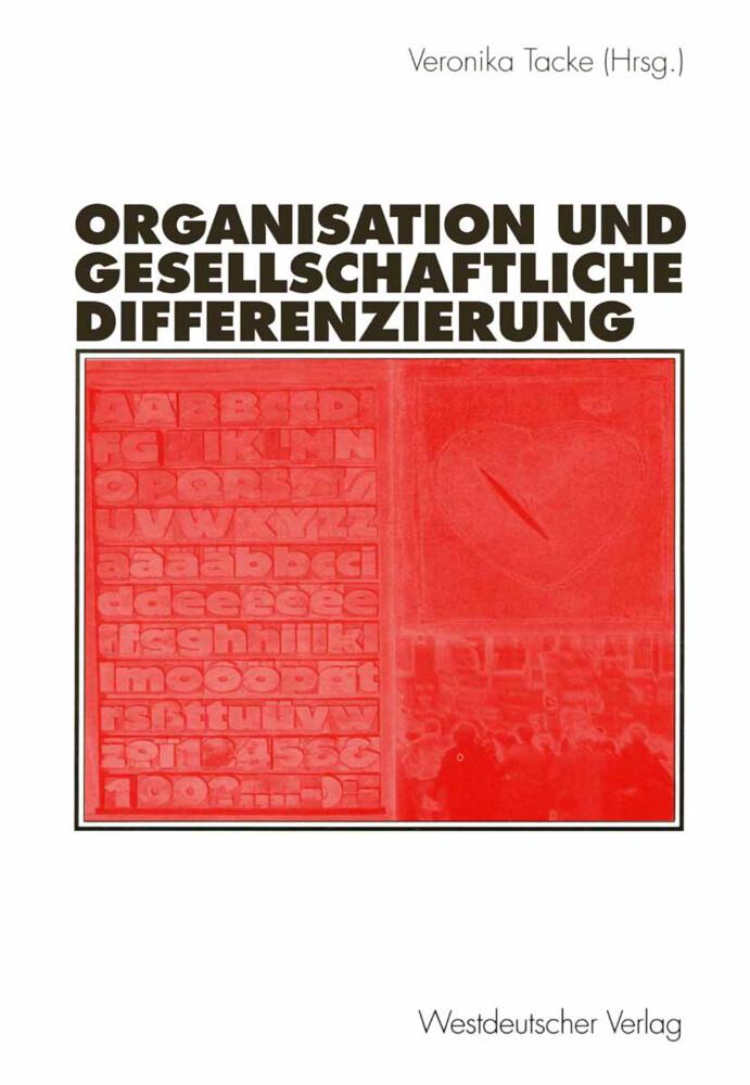 Organisation und gesellschaftliche Differenzierung als Buch