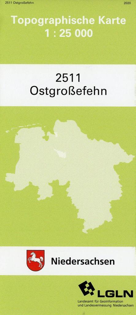 Ostgroßefehn 1 : 25 000 als Buch