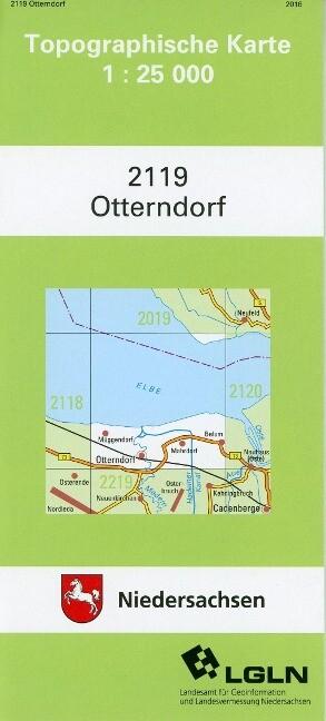 Otterndorf 1 : 25 000 als Buch