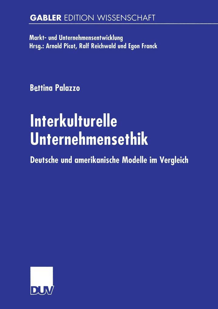Interkulturelle Unternehmensethik als Buch
