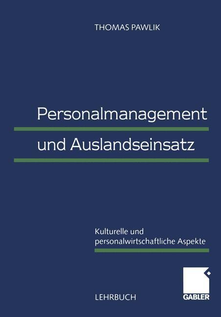 Personalmanagement und Auslandseinsatz als Buch