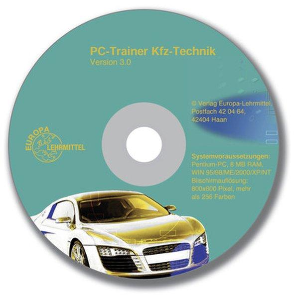 PC-Trainer KFZ-Technik. CD-ROM für Windows 3.X/95/98/NT als Software
