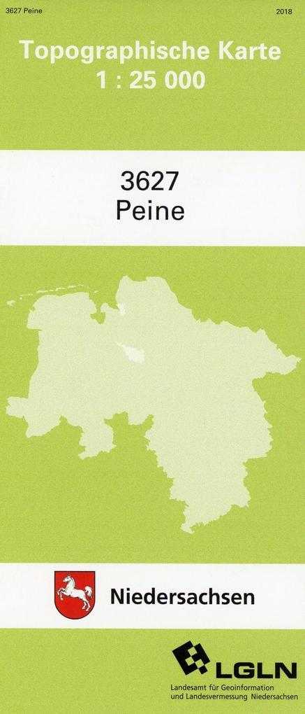 Peine 1 : 25 000. (TK 3627/N) als Buch