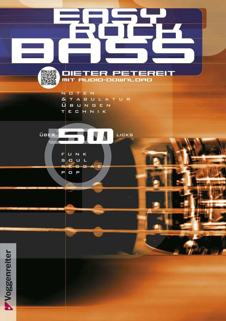Easy Rock Bass. Inkl. CD als Buch