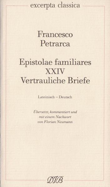 Epistolae Familiares XXIV als Buch
