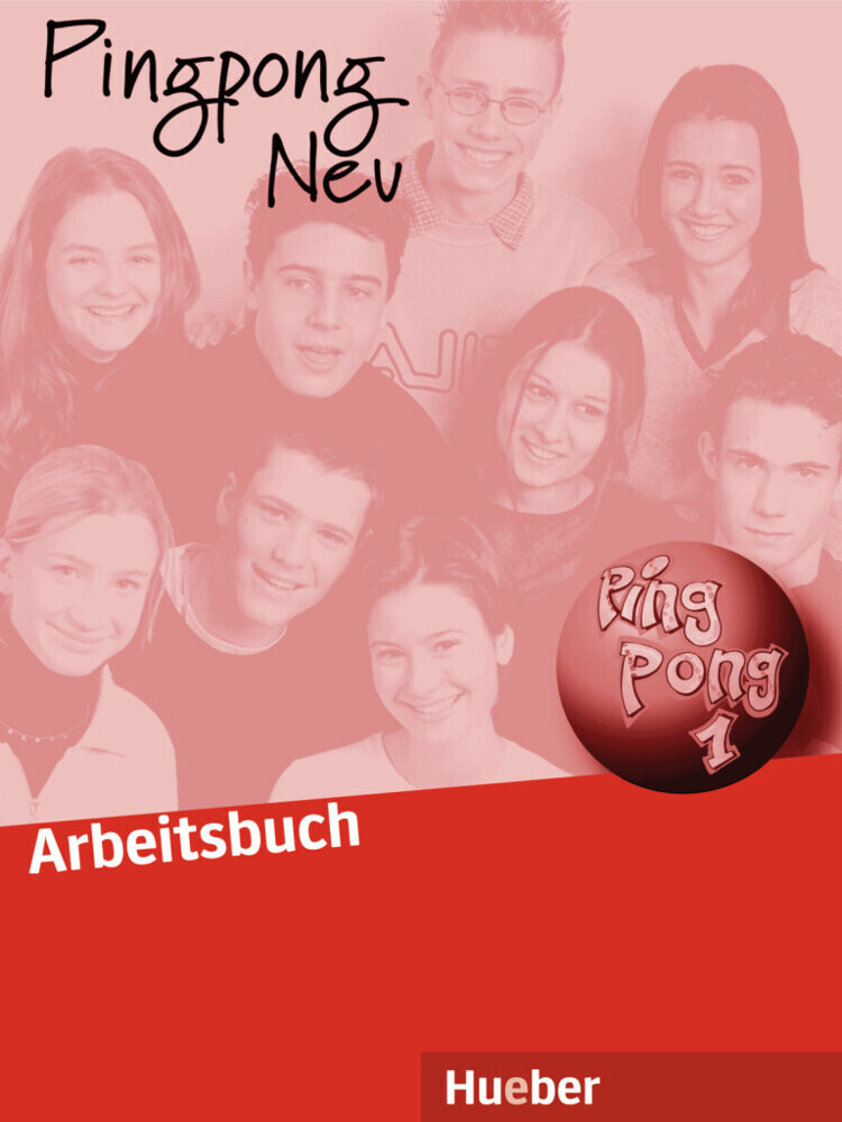 Pingpong neu 1. Arbeitsbuch als Buch