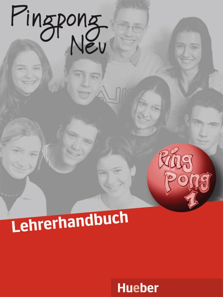 Pingpong neu 1. Lehrerhandbuch als Buch