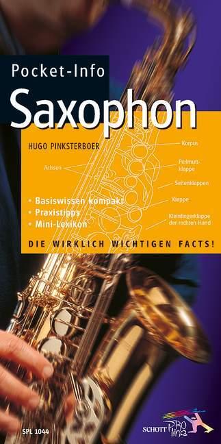 Pocket-Info Saxophon als Buch