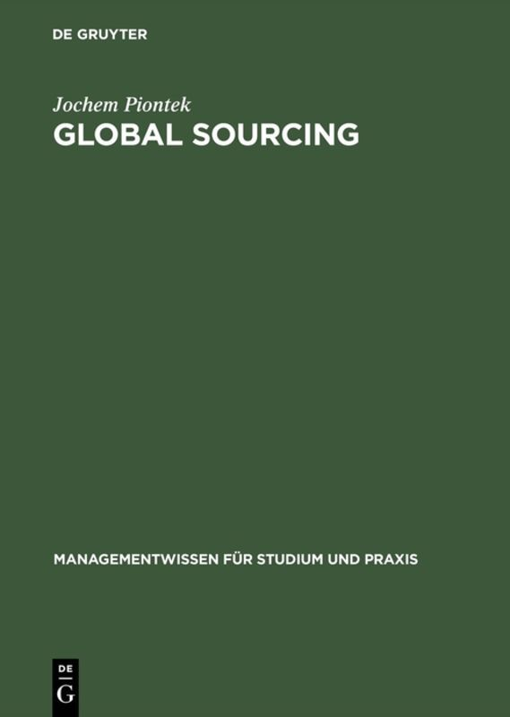 Global Sourcing als Buch