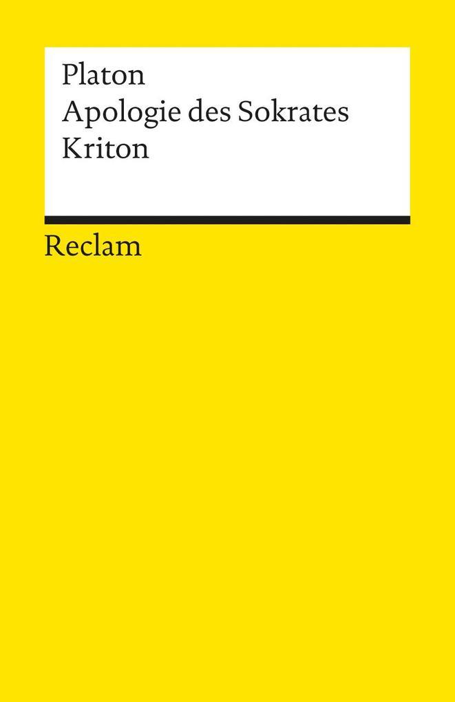 Apologie des Sokrates / Kriton als Taschenbuch