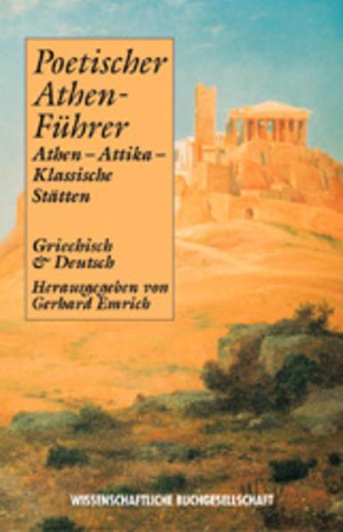 Poetischer Athen-Führer als Buch
