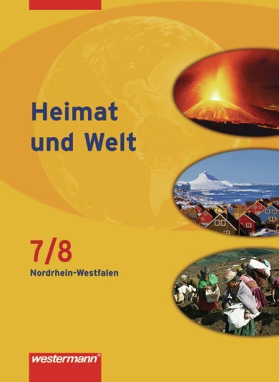 Heimat und Welt 7/8. Schülerband. Hauptschule. Nordrhein-Westfalen als Buch