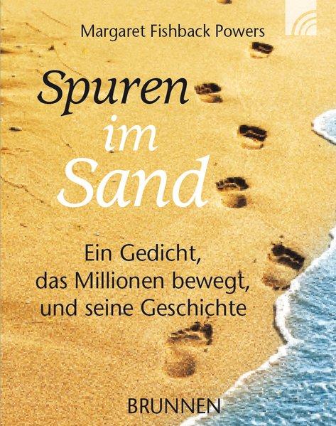 Spuren im Sand. Miniaturausgabe als Buch