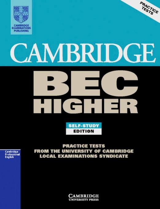 Practice Tests for the Cambridge Business English Certificate. Advanced Book als Buch