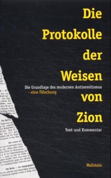 Die Protokolle der Weisen von Zion als Buch