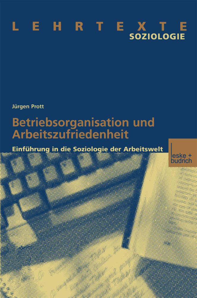 Betriebsorganisation und Arbeitszufriedenheit als Buch