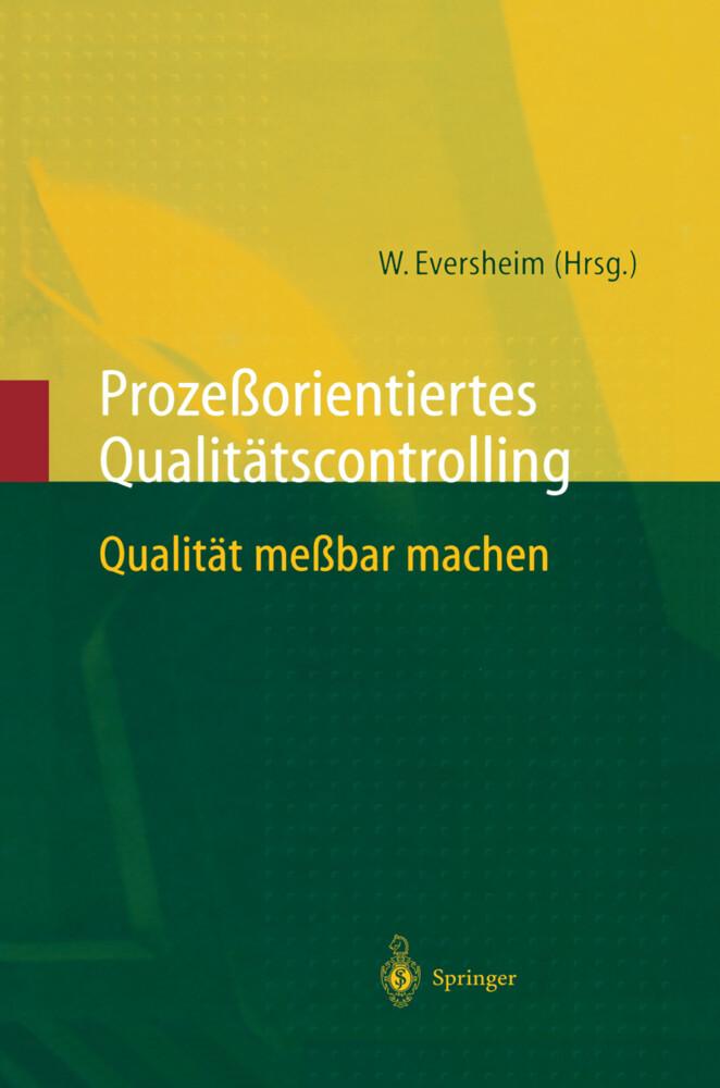 Prozeßorientiertes Qualitätscontrolling als Buch